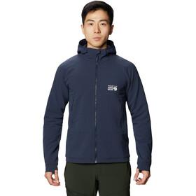Mountain Hardwear Keele Ascent Sweat À Capuche Homme, dark zinc